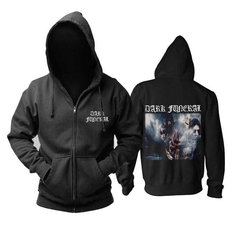 Merchandise Hoodie Dark Funeral Metal Band Pullover