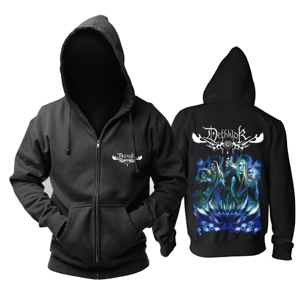 Merch Hoodie Dethklok Metalocalypse Black Pullover