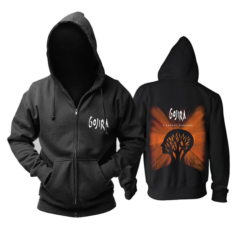 Collectibles Hoodie Gojira L'enfant Sauvage Pullover
