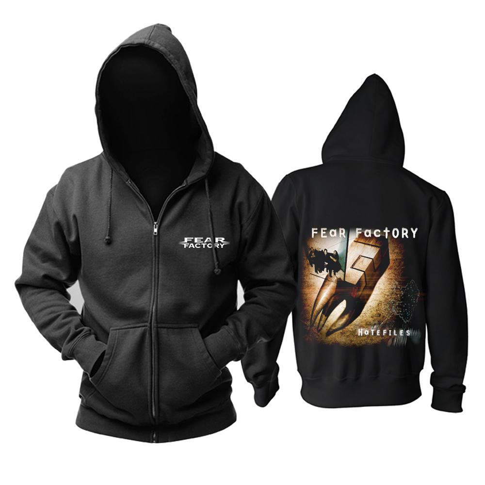 Merchandise Hoodie Fear Factory Hatefiles Pullover