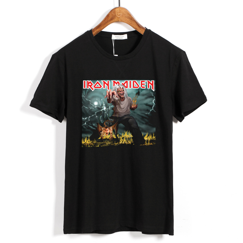 Collectibles T-Shirt Iron Maiden The Number Of The Beast Black