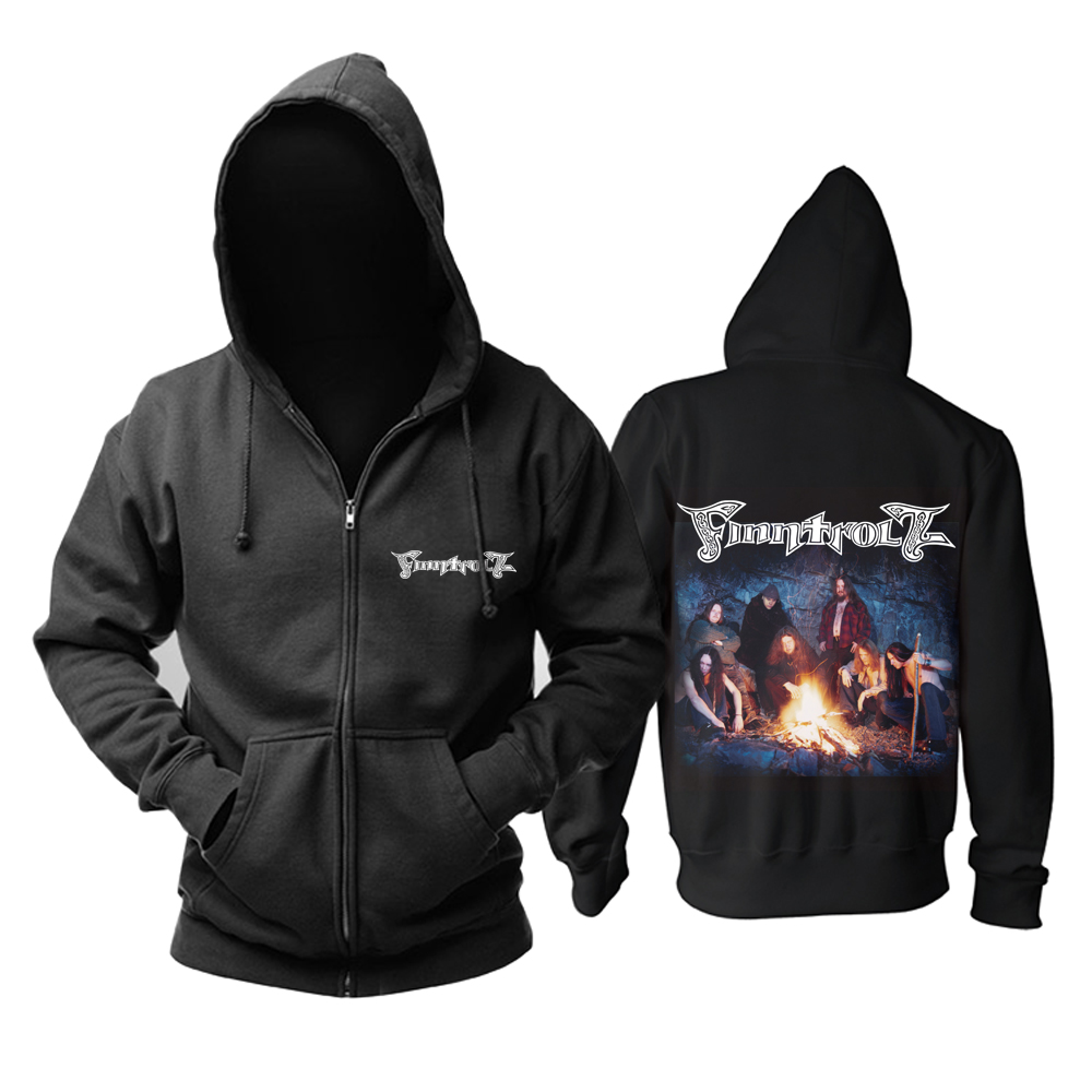 Collectibles Hoodie Finntroll Folk Metal Band Pullover