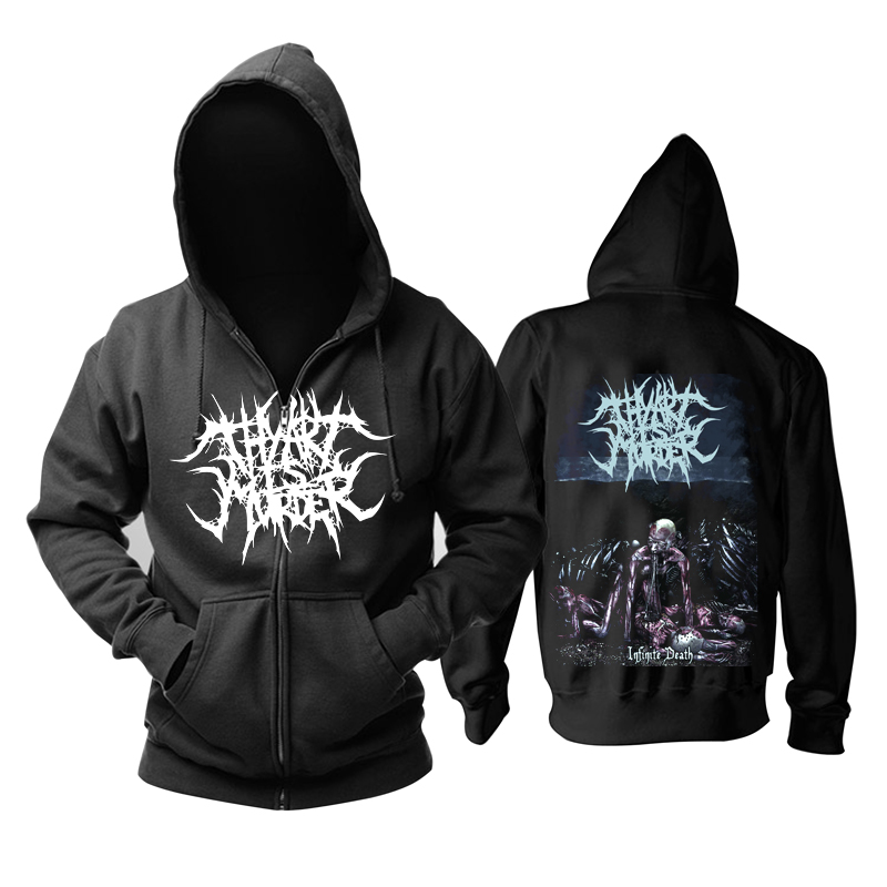 Merchandise Hoodie Thy Art Is Murder Infinite Death Pullover
