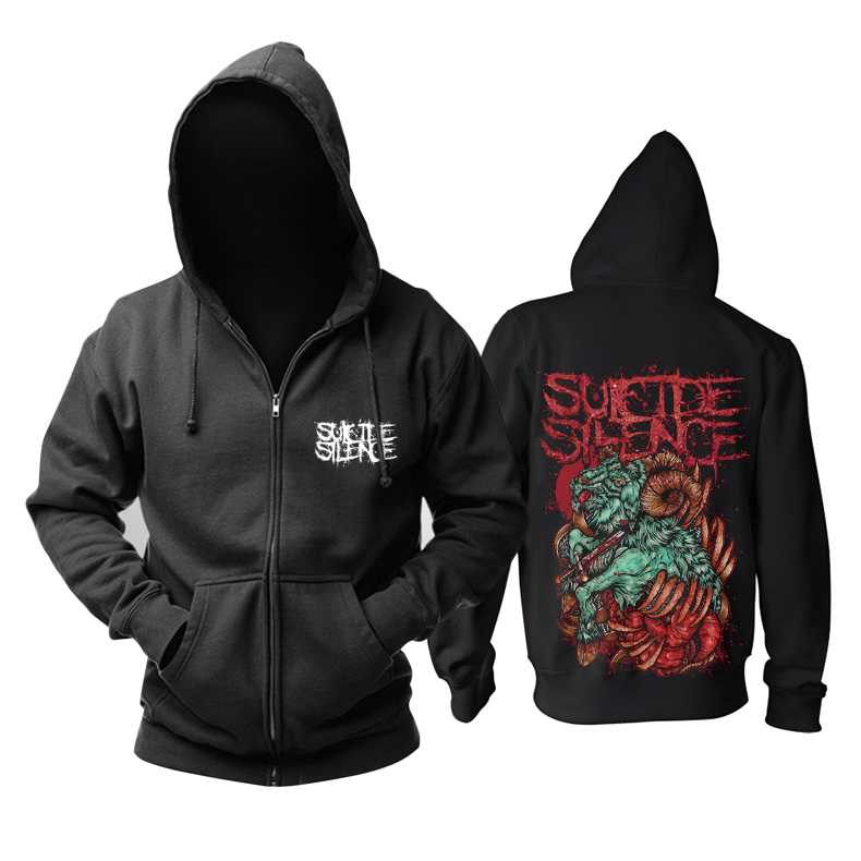 Merch Hoodie Suicide Silence Sacrifice Pullover