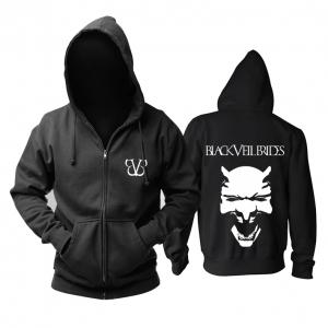 Collectibles Hoodie Black Veil Brides Logo Black Pullover