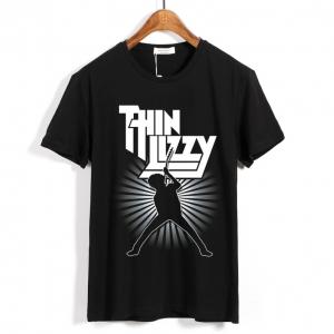 Collectibles T-Shirt Thin Lizzy Band Logo Black