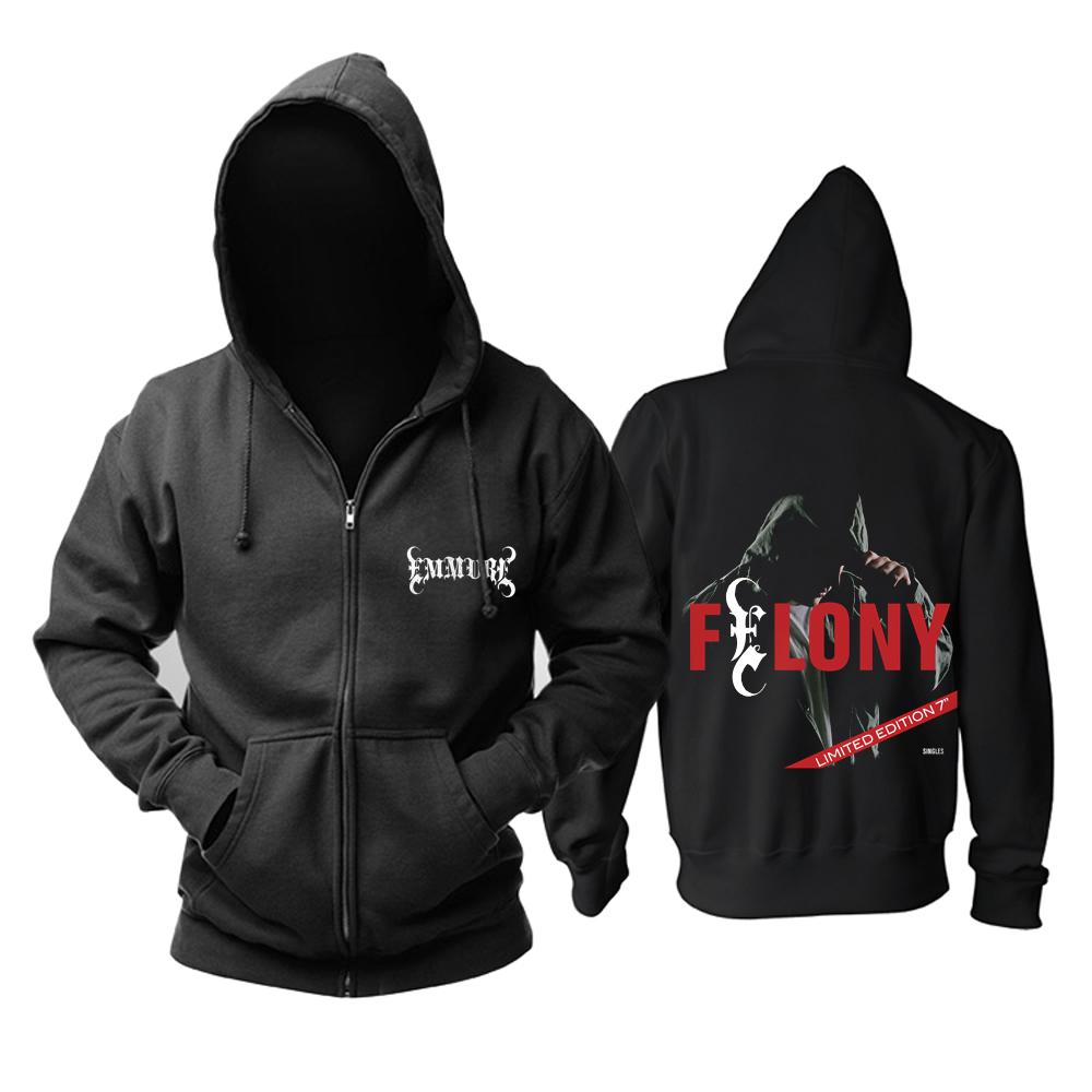 Collectibles Hoodie Emmure Felony Black Pullover