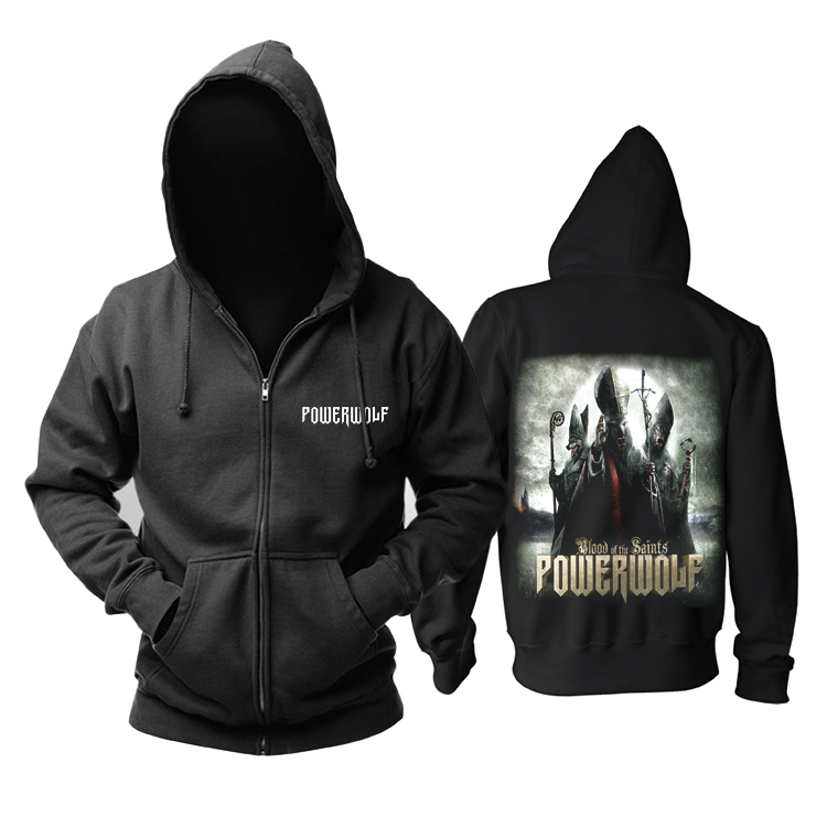 Collectibles Hoodie Powerwolf Blood Of The Saints Pullover