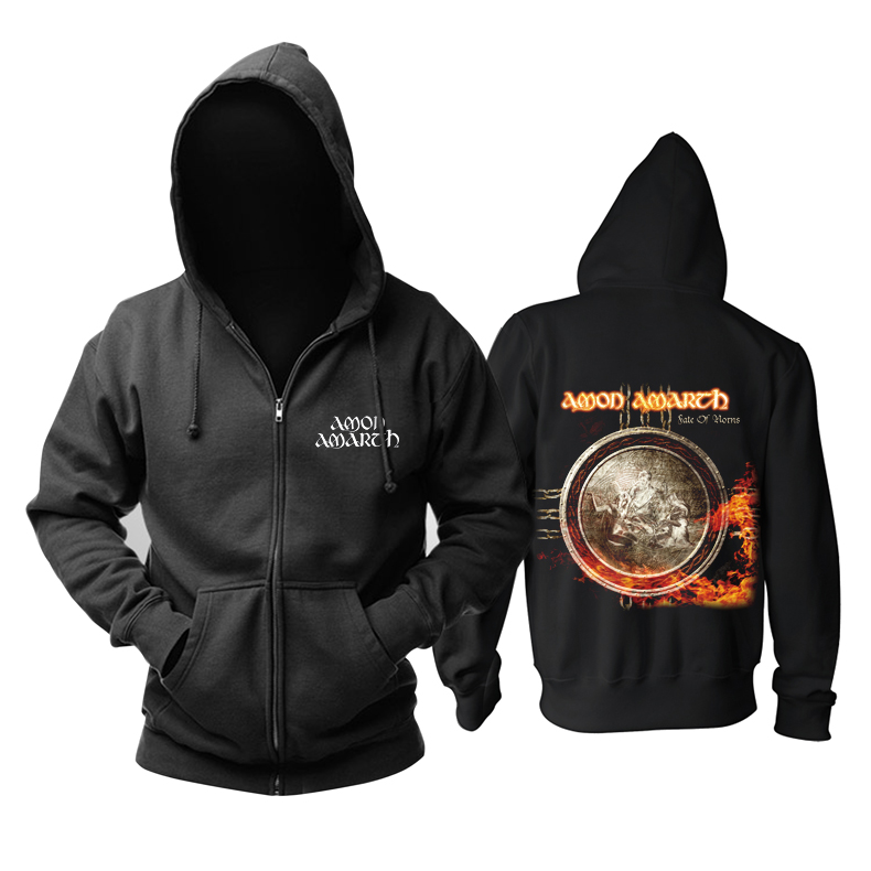 Merchandise Hoodie Amon Amarth Fate Of Norns Pullover