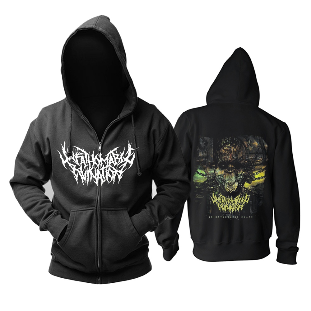 Merchandise Hoodie Unfathomable Ruination Idiosyncratic Chaos Pullover