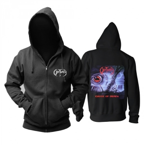 Merch Hoodie Obituary Cause Of Death Pullover