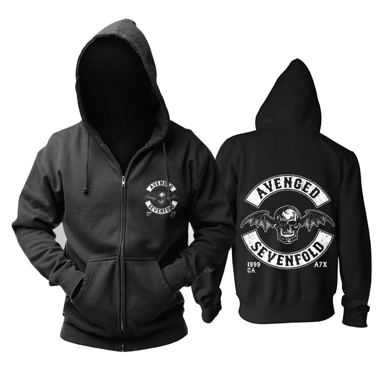 Merchandise Hoodie Avenged Sevenfold Metal Music Rock Pullover