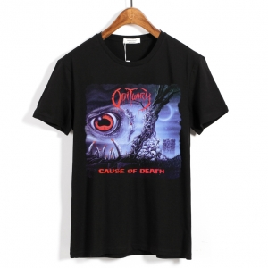 Merch T-Shirt Obituary Cause Of Death