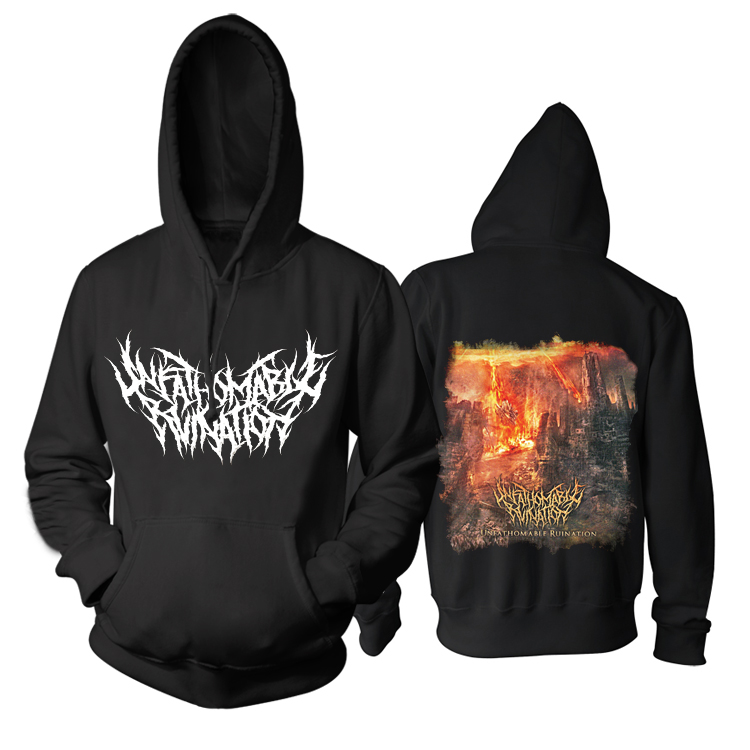 Collectibles Hoodie Unfathomable Ruination Album Cover Pullover