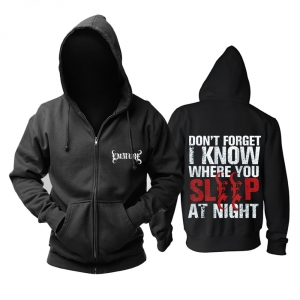 Merch Hoodie Emmure I Know Where You Sleep Pullover
