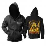 Merch Hoodie Slipknot Goat Skull Logo Pullover