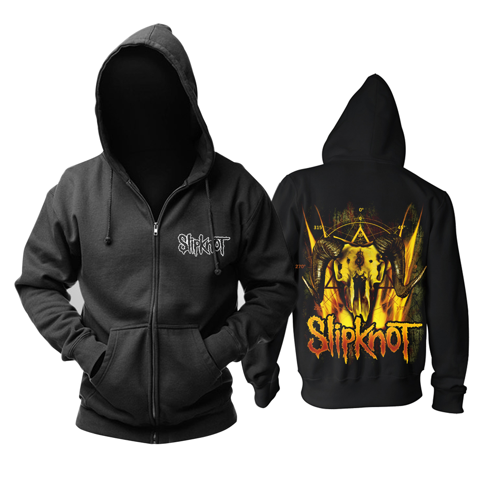 Collectibles Hoodie Slipknot Goat Skull Logo Pullover