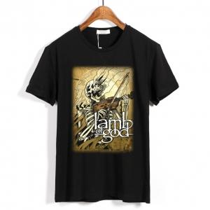 Merchandise T-Shirt Lamb Of God Violin