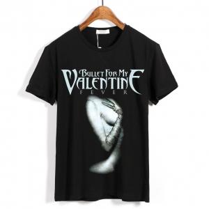 Merchandise T-Shirt Bullet For My Valentine Fever Black