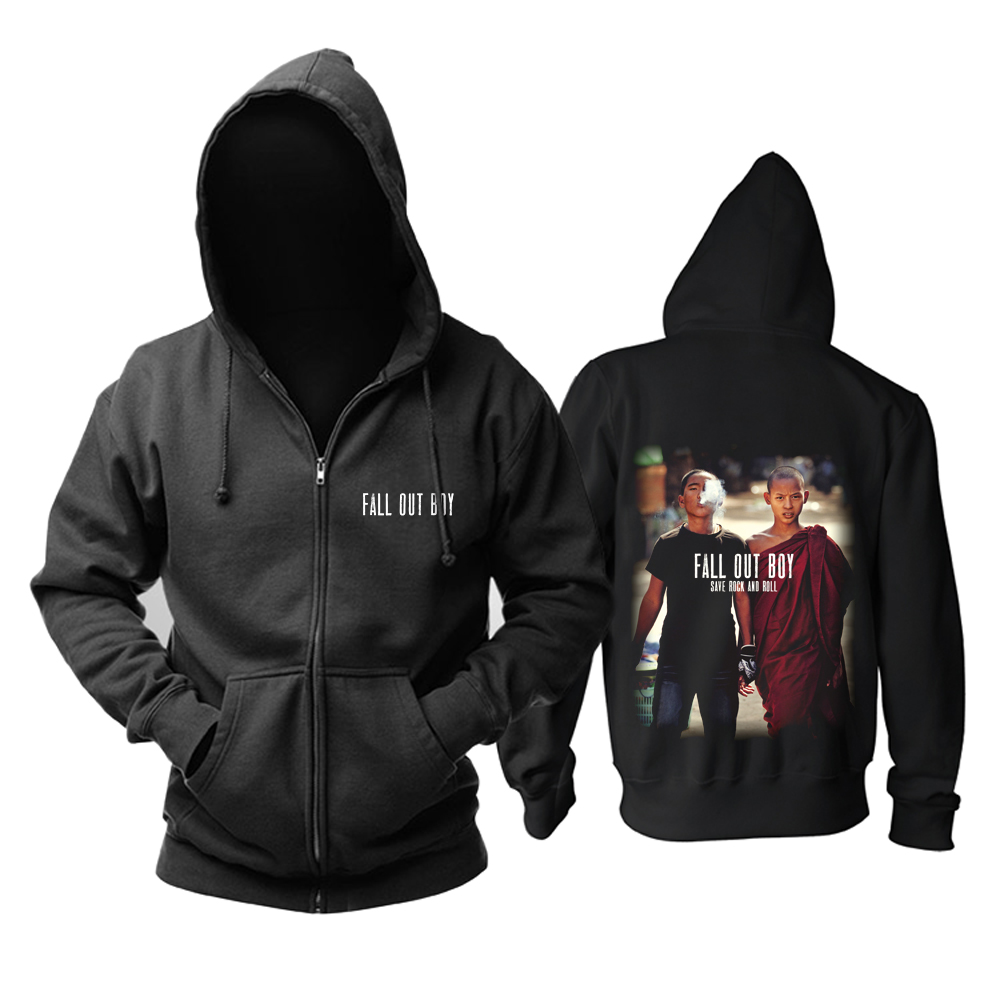 Merch Hoodie Fall Out Boy Save Rock And Roll Pullover