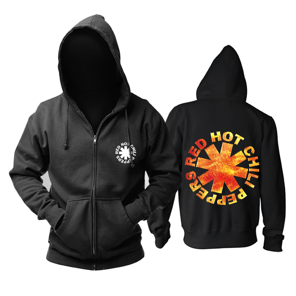 Merchandise Hoodie Red Hot Chili Peppers Logo Pullover