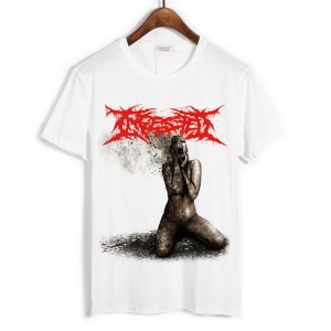 Merch T-Shirt Ingested The Surreption White