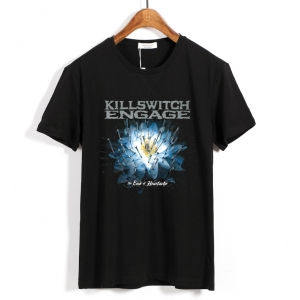 Merch T-Shirt Killswitch Engage The End Of Heartache Black