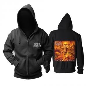 Merchandise Hoodie Impaled Nazarene Ugra-Karma Black Pullover