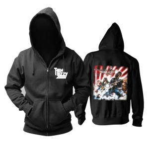 Collectibles Hoodie Thin Lizzy The Boys Are Back In Town Pullover