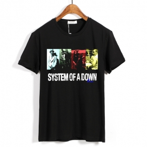 Collectibles T-Shirt System Of A Down Rock Band