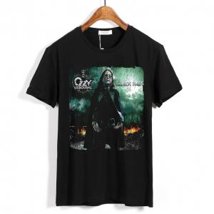 Merch T-Shirt Ozzy Osbourne Black Rain