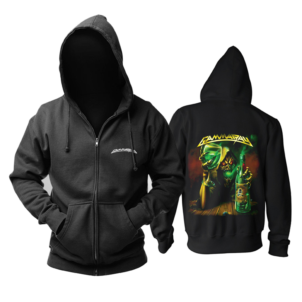 Collectibles Hoodie Gamma Ray Cheers To The Metal Pullover