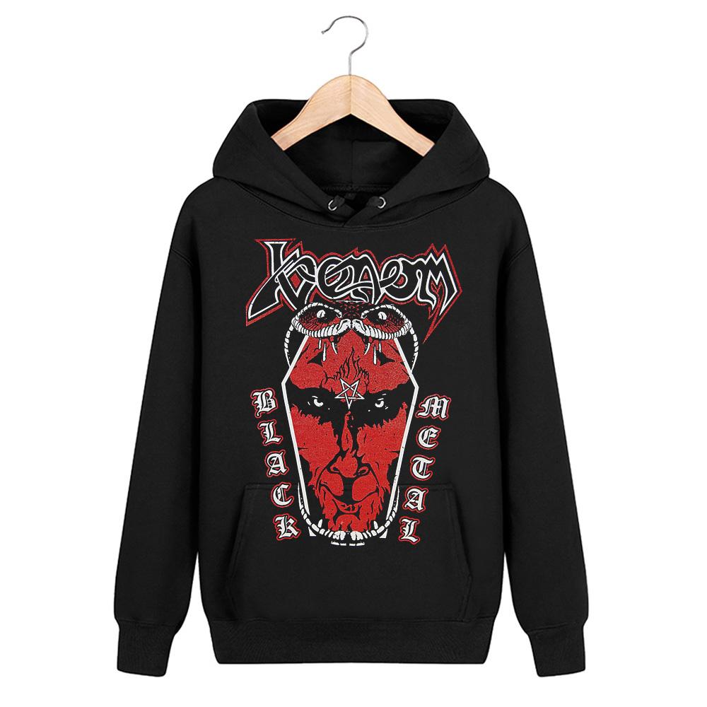 Merch Hoodie Venom Black Metal Coffin Pullover