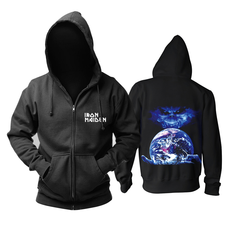 Collectibles Pullover Iron Maiden Hoodie Band