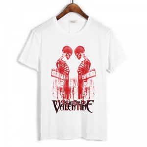 Merchandise T-Shirt Bullet For My Valentine Hand Of Blood White