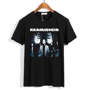 Merch T-Shirt Rammstein Rock Band Cotton Top