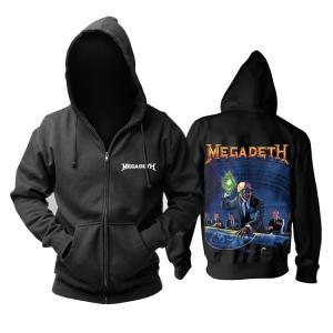 Merchandise Hoodie Megadeth Rust In Peace Pullover