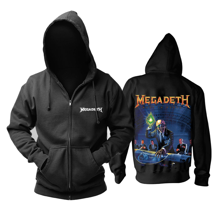 Collectibles Hoodie Megadeth Rust In Peace Pullover