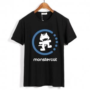 Merch - T-Shirt Monstercat Logo Black