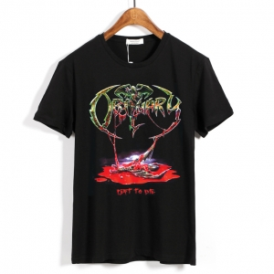 Merch T-Shirt Obituary Left To Die