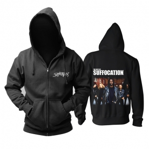 Collectibles Hoodie Suffocation Metal Band Pullover