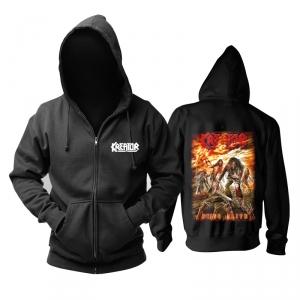Merchandise Hoodie Kreator Dying Alive Black Pullover