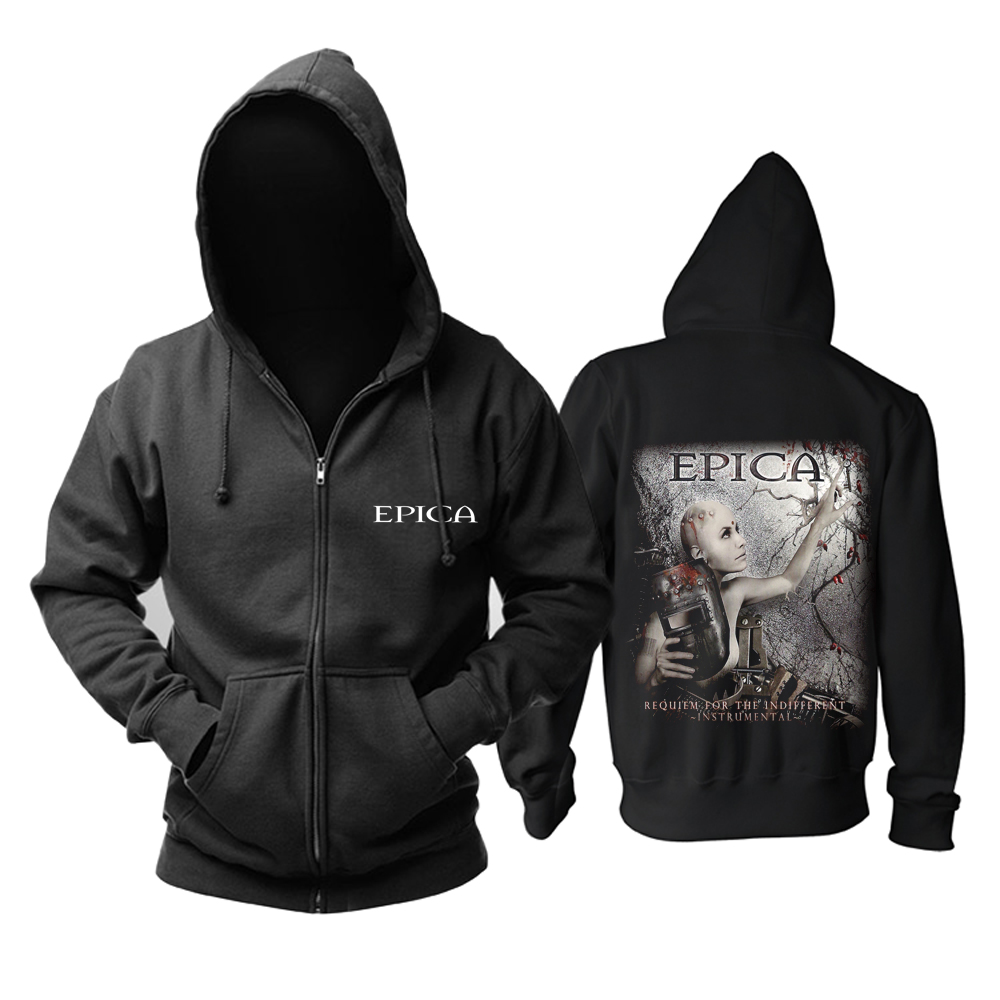 Merch Hoodie Epica Requiem For The Indifferent Pullover