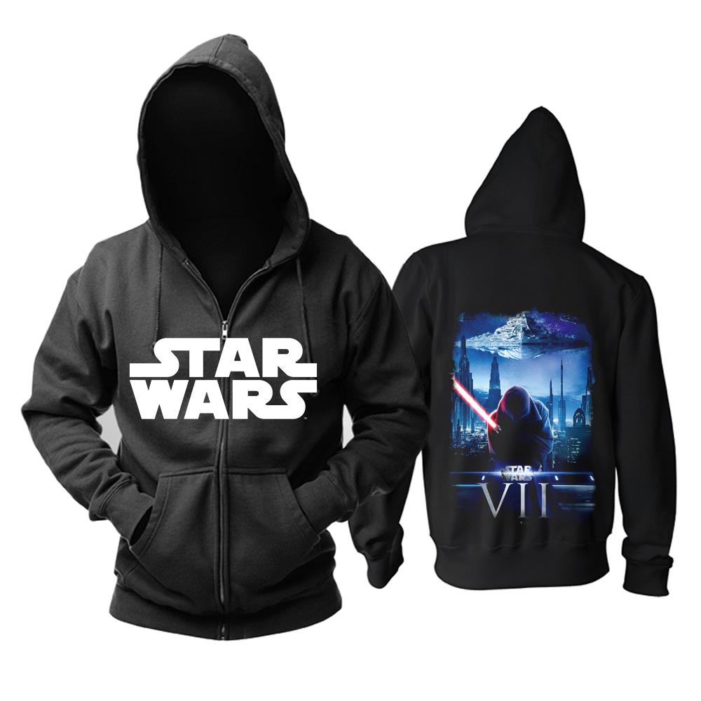 Merchandise Hoodie Star Wars Vii Black Pullover