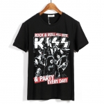Collectibles T-Shirt Kiss Party Every Day