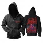 Merchandise Hoodie Death Scream Bloody Gore Pullover