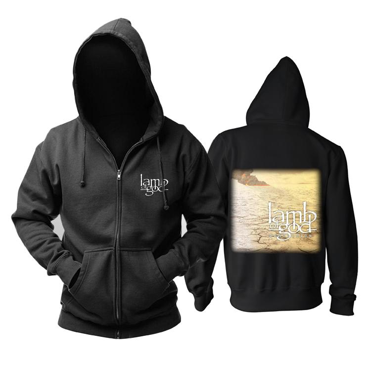 Merchandise Hoodie Lamb Of God Resolution Pullover