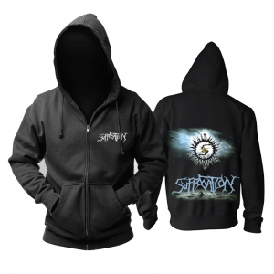 Collectibles Hoodie Suffocation Death-Metal Music Pullover