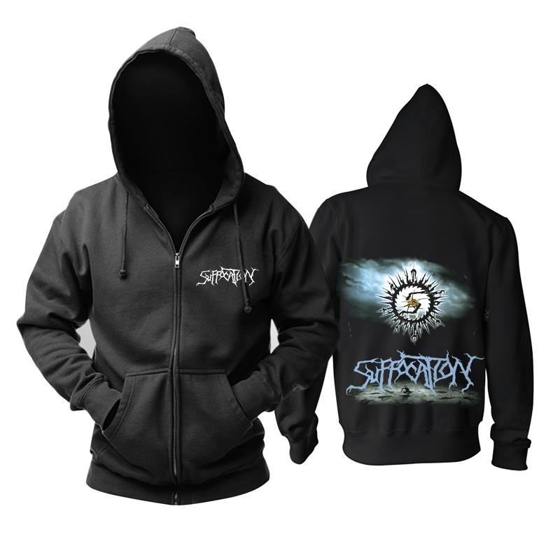Merch Hoodie Suffocation Death-Metal Music Pullover