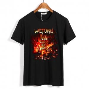 Merch T-Shirt Whitechapel Deathcore Hell Tour